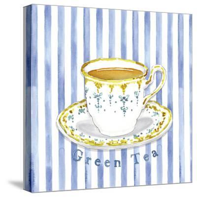 Green Tea-Kate Mawdsley-Stretched Canvas Print