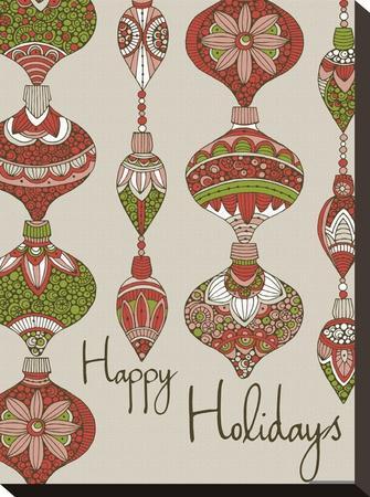 Happy Holidays-Valentina Ramos-Stretched Canvas Print