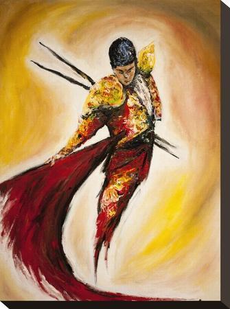 Matador-Marc Allante-Stretched Canvas Print