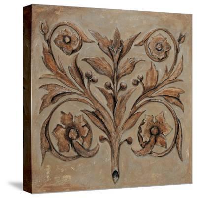 Decorative Scroll I-Pablo Segovia-Stretched Canvas Print