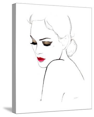 Simplicity-Jessica Durrant-Stretched Canvas Print