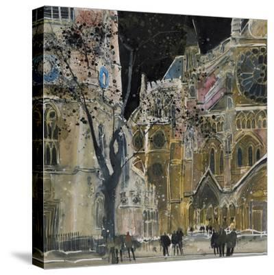 Ecclesiastical Icon, Westminster Abbey, London-Susan Brown-Stretched Canvas Print
