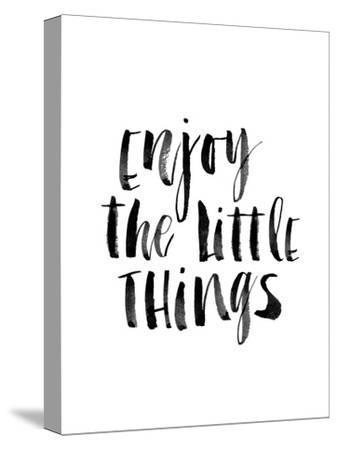 Enjoy the Little Things-Brett Wilson-Stretched Canvas Print