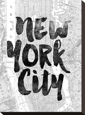New York City-Brett Wilson-Stretched Canvas Print