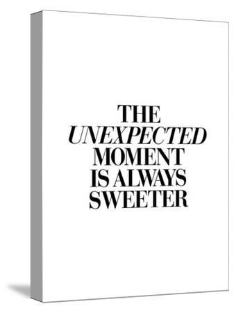 The Unexpected Moment Is Always Sweeter-Brett Wilson-Stretched Canvas Print