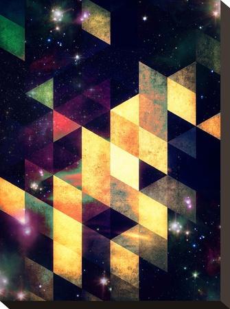 swwyrr-Spires-Stretched Canvas Print