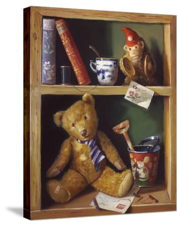 Ted and Friends II-Raymond Campbell-Stretched Canvas Print