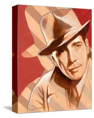 Portrait of H. Bogart-Joadoor-Stretched Canvas Print