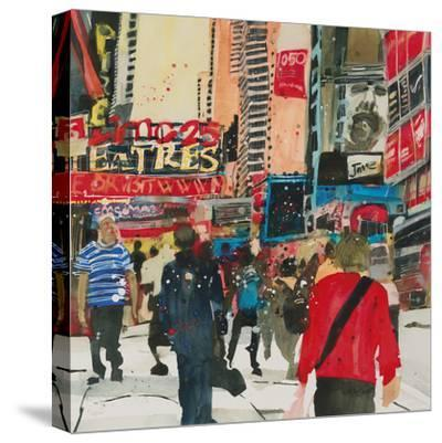 Being Part - New York-Susan Brown-Stretched Canvas Print