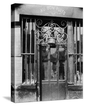 Paris, 1901 - Au bon puits, rue Michel Le Conte-Eugene Atget-Stretched Canvas Print