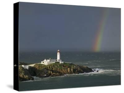 Rainbow over Fanad-Head, Ireland-Jean Guichard-Stretched Canvas Print