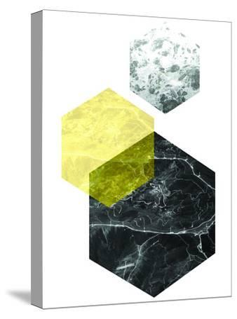 Geometric Art 22-Pop Monica-Stretched Canvas Print