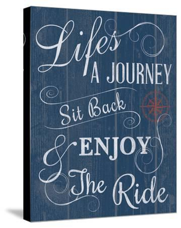 Life's a Journey-Tom Frazier-Stretched Canvas Print