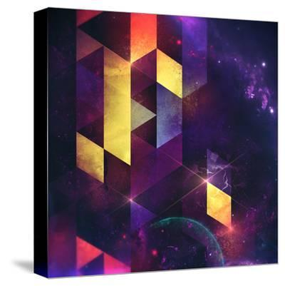 Cryxxyng Spyce-Spires-Stretched Canvas Print
