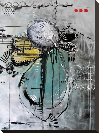 Motus De Poussiere-Annie Rodrigue-Stretched Canvas Print