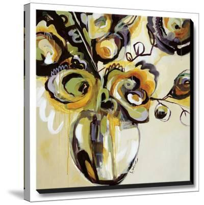 Blooming Plumes-Angela Maritz-Stretched Canvas Print