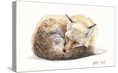 Snuggled Up-Lindsay Scott-Stretched Canvas Print