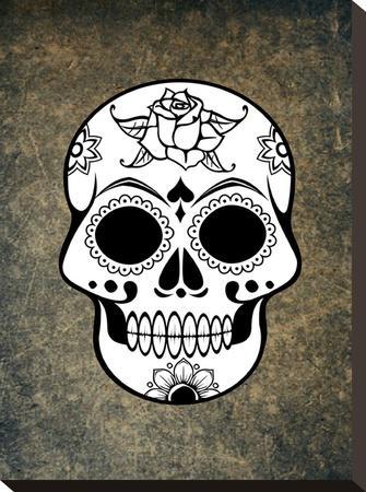 Fantasy Skull Horror Design-Wonderful Dream-Stretched Canvas Print