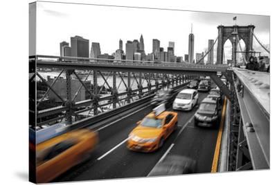 Leaving Manhattan--Stretched Canvas Print