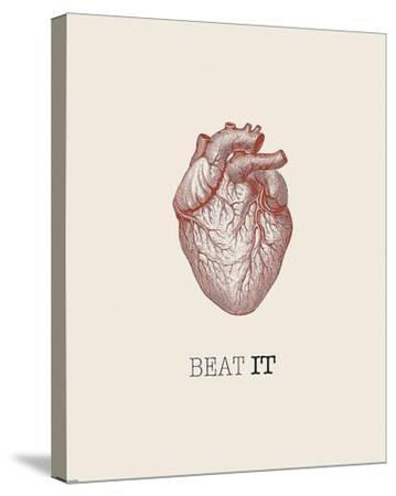 Beat It-GraphINC-Stretched Canvas Print