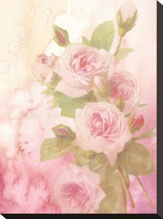 Vintage Valentine Rose-Wonderful Dream-Stretched Canvas Print