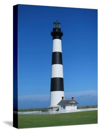 Lighthouse-Grab My Art-Stretched Canvas Print