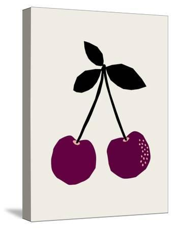 Cherry-Nanamia Design-Stretched Canvas Print
