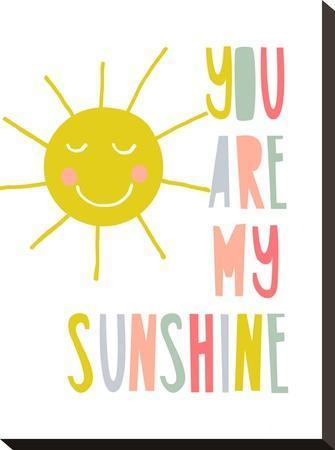 Sunshine-Nanamia Design-Stretched Canvas Print
