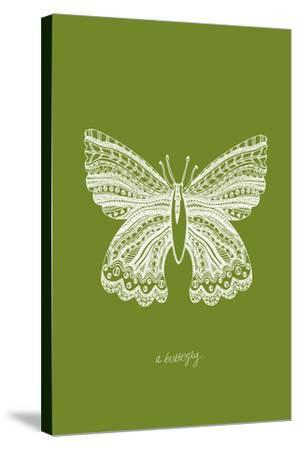 Simple Nature - Butterfly-Clara Wells-Stretched Canvas Print