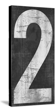 Retro Numbers - Two-Tom Frazier-Stretched Canvas Print