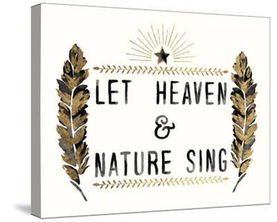 Let Heaven - Star-Kristine Hegre-Stretched Canvas Print