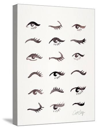 Mascara Envy-Cat Coquillette-Stretched Canvas Print