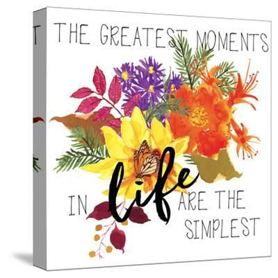 The Greatest Moments-Edith Jackson-Stretched Canvas Print