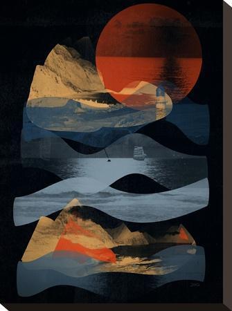Descend-NDTank-Stretched Canvas Print