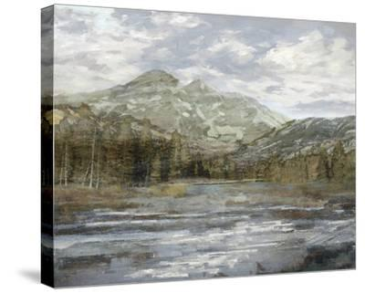 Peaceful Mountains-Mark Chandon-Stretched Canvas Print