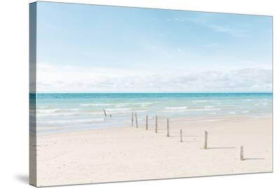 Ocean Pathway-Mike Toy-Stretched Canvas Print