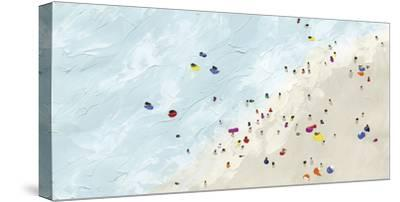 Beach Day - Shore-Kristine Hegre-Stretched Canvas Print