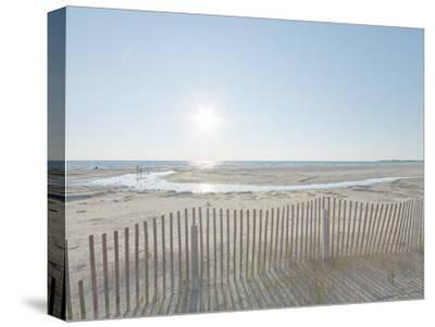 Beach Play-Mike Toy-Stretched Canvas Print