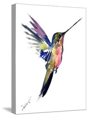 Hummingbird 4-Suren Nersisyan-Stretched Canvas Print