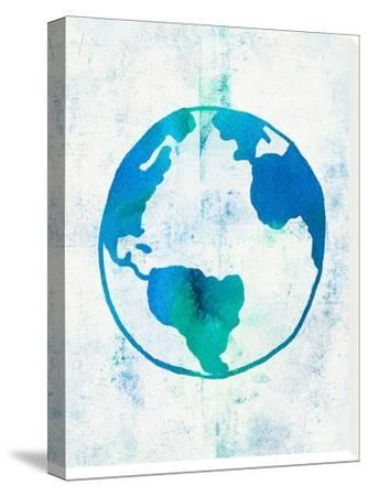 Earth Day-Leah Flores-Stretched Canvas Print