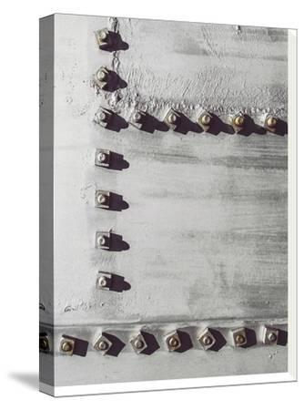 Rivets No 3-Annie Bailey-Stretched Canvas Print
