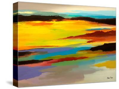 Abstract Landscape 3-Hans Paus-Stretched Canvas Print