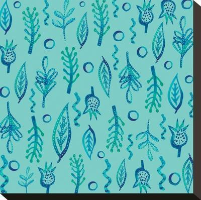 Blue Kelp 2-Kristine Lombardi-Stretched Canvas Print