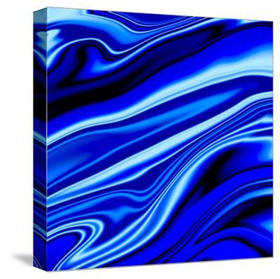 Blue Streak-Ashley Camille-Stretched Canvas Print