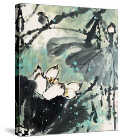 Lotus Series 22-Yunyue Zhu-Stretched Canvas Print