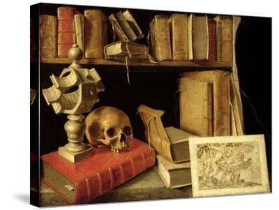 Vanitas with a Sundial, circa 1626-40--Stretched Canvas Print