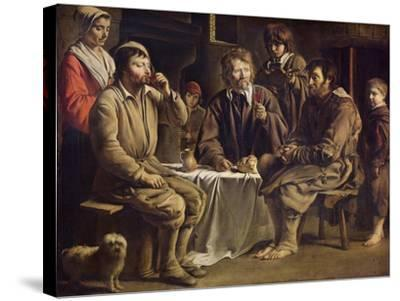 The Peasant's Meal, 1642-Louis Le Nain-Stretched Canvas Print