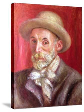 Self Portrait, 1910-Pierre-Auguste Renoir-Stretched Canvas Print