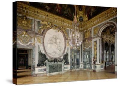 The Salon De La Guerre (War Room) 1678-84-Jules Hardouin Mansart-Stretched Canvas Print