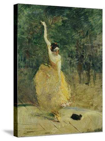 The Spanish Dancer, 1888-Henri de Toulouse-Lautrec-Stretched Canvas Print